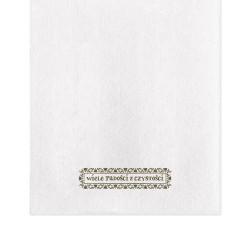 Ręcznik z napisem