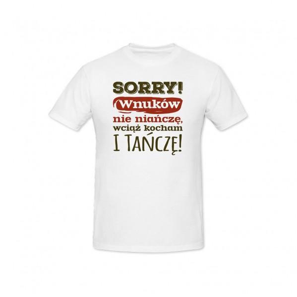 T-shirt  Sorry!
