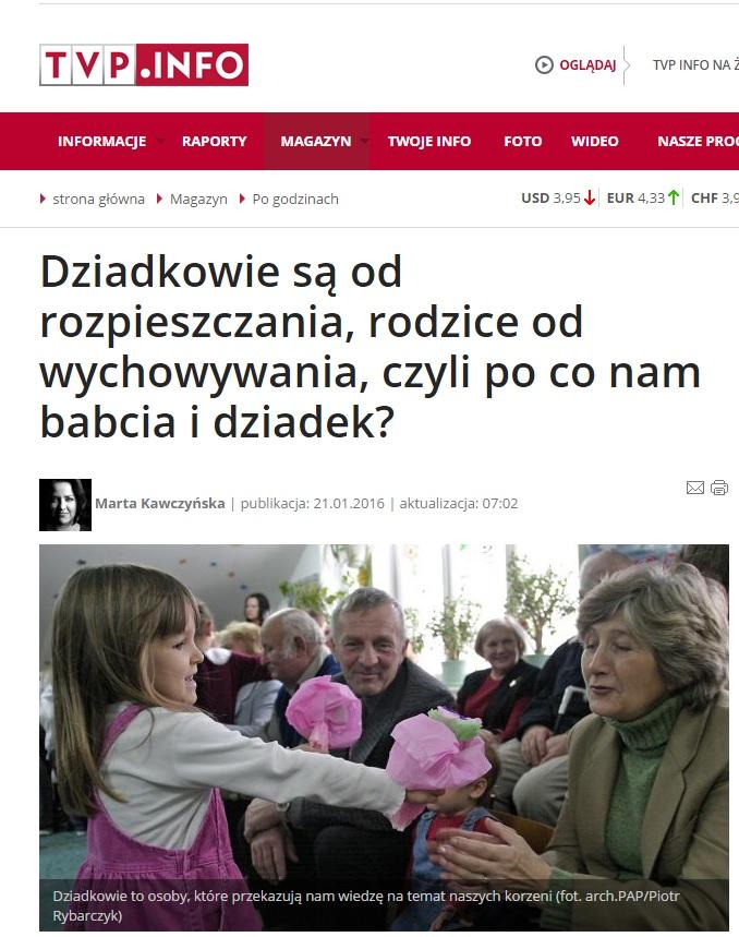 tvp info - po co nam dziadkowie